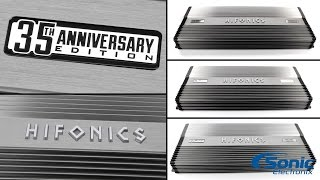 Hifonics 35th Anniversary Edition Super Amps | Product Overview