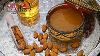 Amlou - marokkanische Mandel-Honig-Creme mit Arganöl