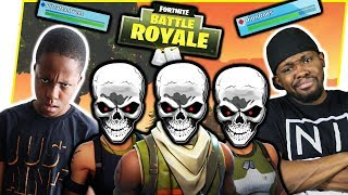 IT'S UP TO ME & TRENT TO WIN THE GAME! - FortNite Battle Royale Ep.87