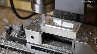 Optimum BF16 CNC mit Kugelumlaufspindeln Test