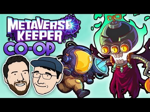 NEW COOP ROGUELIKE DUNGEON CRAWLER | Let's Play Metaverse Keeper (Co-op) DEMO | 2 Left Thumbs