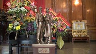 Tin Tức 24h Mới Nhất: Khu Di tích Kim Liên tiếp nhận tượng Bác