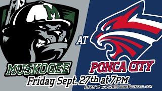Muskogee vs Ponca City