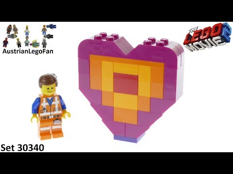 Vidéo LEGO The LEGO Movie 30340 : Emmet's Piece Offering (Polybag)
