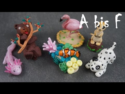 Fimo Tier ABC 2.0 ~ A bis F