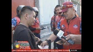 SONA: Mga taga-MMDA at may-ari ng mga nakahambalang sa kalsada at bangketa, nagkahabulan