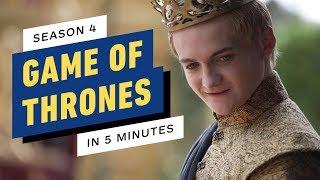 Game of Thrones Season 4 Story Recap in 5 Minutes