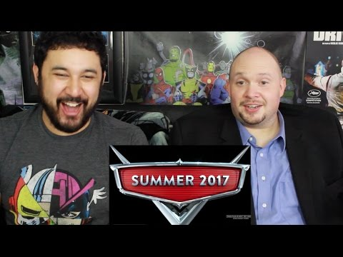 CARS 3 Official TEASER TRAILER REACTION & REVIEW!!!
