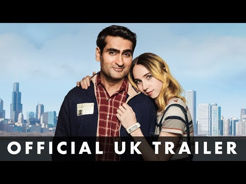 Video trailer för THE BIG SICK - Official UK Trailer - Prod. by Judd Apatow & starring Kumail Nanjiani