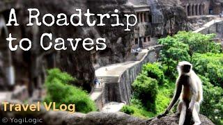 A Roadtrip to Caves- Travel Vlog of Ajanta Ellora Caves visit