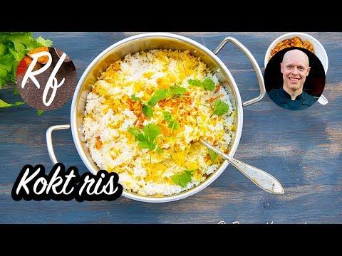 Ett grundrecept hur du kokar ris som basmatiris eller vanligt långkornigt ris. >