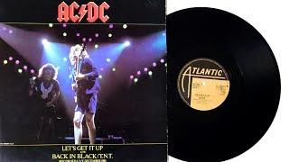 AC/DC - Let's Get It Up - 1982 - Vinyl Unboxing