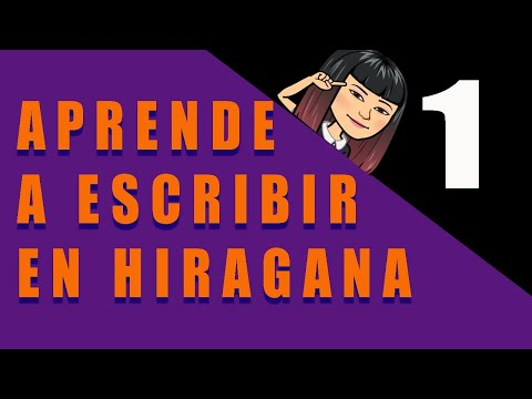 Aprende a escribir en hiragana! Parte 1!