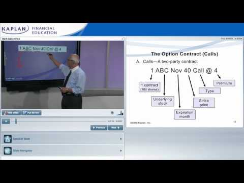FINRA Series 7 Online Class Preview from Kaplan - YouTube