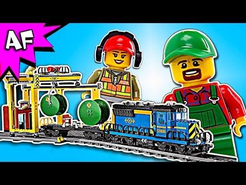 Vidéo LEGO City 60052 : Le train de marchandises