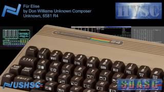 Für Elise - Don Williams Unknown Composer - (Unknown) - C64 chiptune
