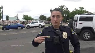 Tyrant Female Officer Gets Her Daily Dose Of Education On Public Photography-1st Amendment Audit