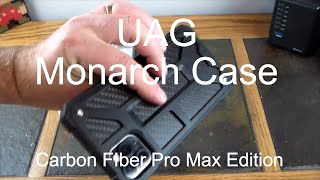 UAG Monarch Carbon Fiber iPhone 11 Case