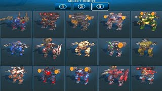 War Robots: New Hangar Switch mode and UI Animations [Test Server]
