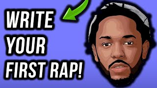 How To Write A Rap: Your First Verse In Under 11 Minutes (Step-By-Step)