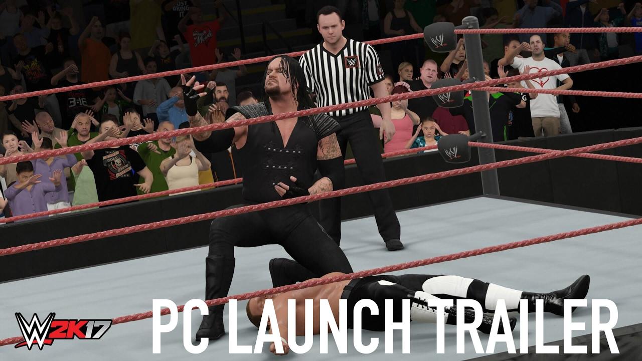WWE 2K17 - Trailer di lancio su PC