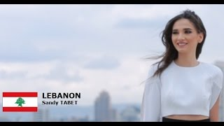Sandy Tabet Contestant from Lebanon for Miss World 2016 Introduction
