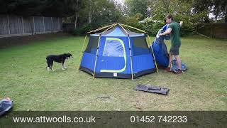 Coleman OctaGo Tent Pitching (Tutorial) Video