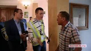 Видео Новости-N: Житель Николаева обматерил Панченко