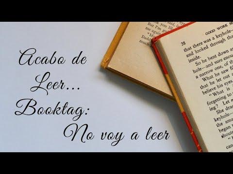 Acabo de Leer...   Booktag 'No voy a leer' - YouTube