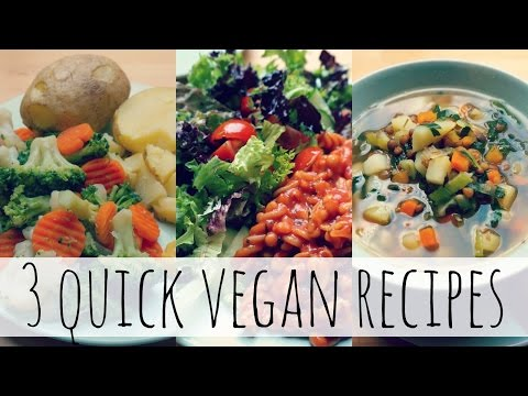 Video 3 Quick & Easy Low-Fat Vegan Meals