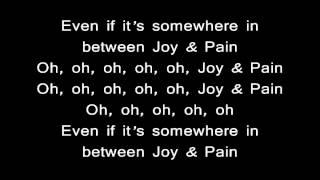 Chris Richardson feat Tyga - Joy & Pain (Lyrics)