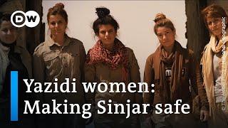 The Yazidi women who clear 'IS' landmines from Iraq's Sinjar   DW News
