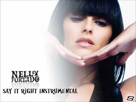 Nelly Furtado - Say It Right Official Instrumental