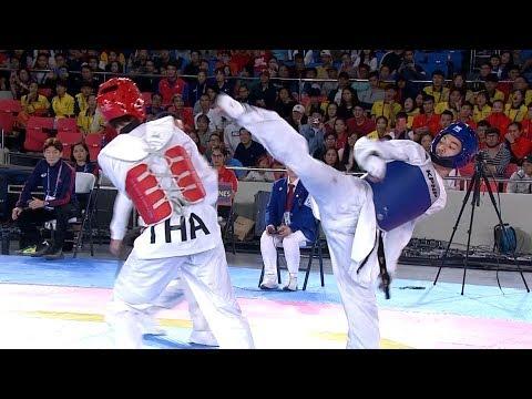 [Sport5]  Philippines vs Thailand | Taekwondo M -74kg Final | 2019 SEA Games
