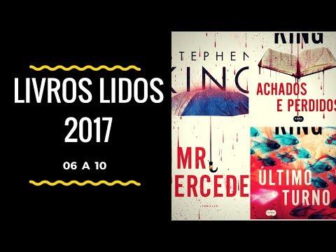 Livros Lidos 2017 - 06 a 11
