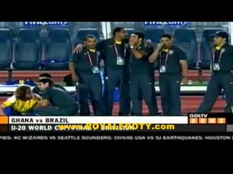 Video: Ghana beat Brazil to win historic U-20 World Cup