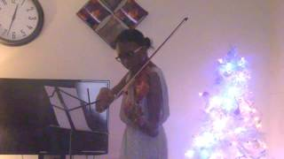 ''God Will Make A Way On The Violin By Mary-Esther Opadiran