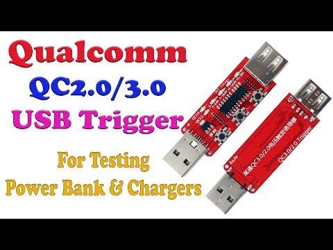 Qualcomm QC 2.0 & QC 3.0 Trigger