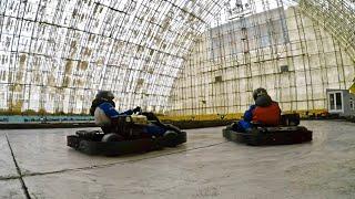 Крытый Картинг в спортивно-развлекательном комплексе Ангар | GoPro Hero 4 Black