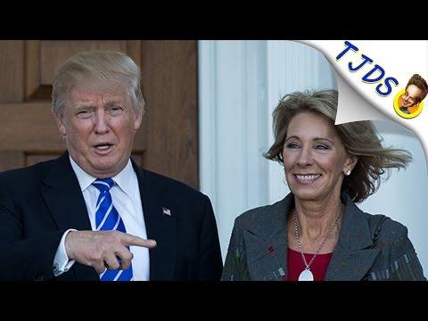 Betsy DeVos- New Education Secretary-KNOWS NOTHING!
