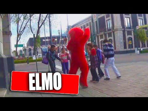 Broma de Elmo | bromas pesadas en la calle | bromas de risa | Videos de risa | Prankedy