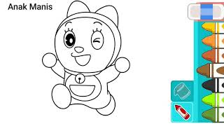 Unduh 510+ Gambar Kartun Doraemon Belajar Mewarnai Terlucu