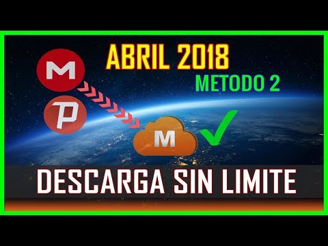 METODO 2 Descarga De Mega Sin Limite/ Nuevo Método MARZO 2018/ Solución Megadownloader 0.00 kb/s