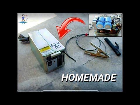 Homemade Microwave Oven DC Arc Welder