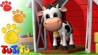 TuTiTu Animals | Animal Toys for Children | Cow