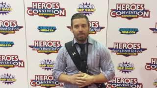 Latino Review Media at HeroesCon in Charlotte, North Carolina