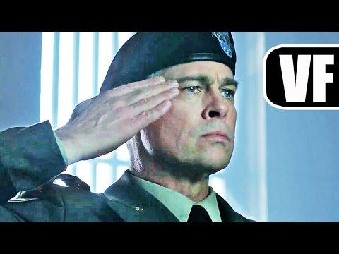 WAR MACHINE Bande Annonce VF (Netflix 2017) Brad Pitt