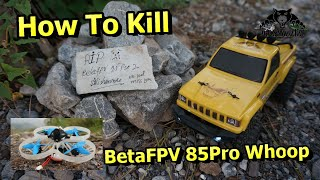 How to Kill FPV Whoop Drone Road Kill FPV Drone in Pakistan