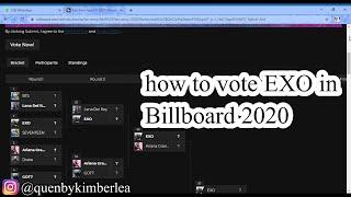"""""""TUTORIAL VOTE EXO IN BILLBOARD 2020"""" #EXO #EXOVOTE #KPOP #EXOL"""