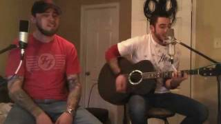 Plush Stone Temple Pilots STP Acoustic Duo Cover Version Vocal and Guitar Video
